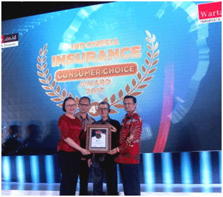 ABDA Raih Indonesia Insurance Consumer Choice Award 2017