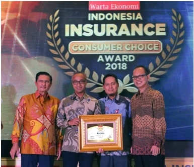 Indonesia Insurance Consumer Choice Award 2018